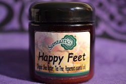 Happy Feet Organic Shea Butter
